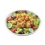 Salad gà giòn