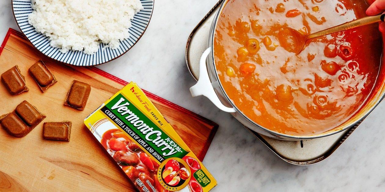 cách nấu cà ri chay