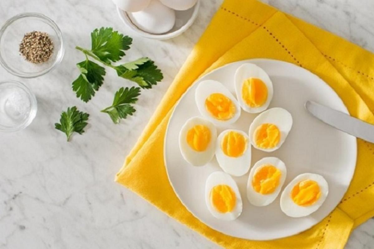 ăn trứng vào buổi sáng