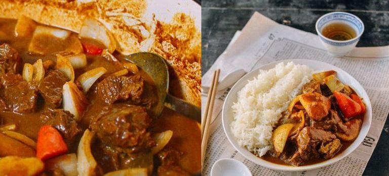 Cà ri Ấn Độ, Nhật Bản và Thái Lan khác nhau như thế nào?