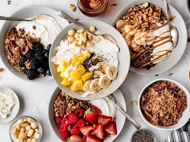 bữa sáng dinh dưỡng